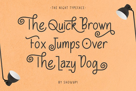 The Night Typeface in Display Fonts - product preview 1