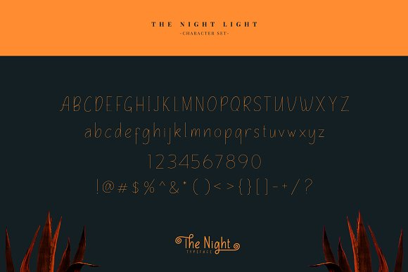 The Night Typeface in Display Fonts - product preview 9