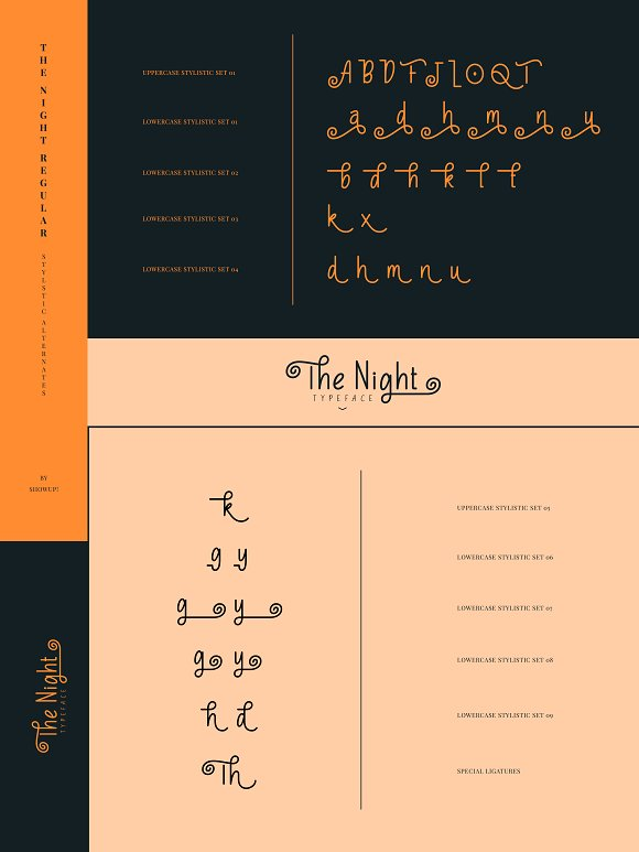 The Night Typeface in Display Fonts - product preview 10