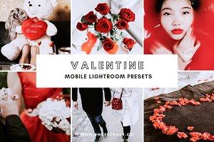 Valentine Lightroom Presets Mobile