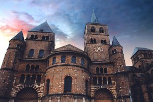 Ancient Building In Germany City
