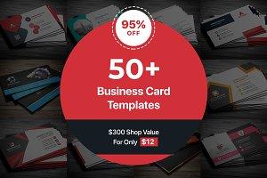50 Business Cards Bundle