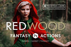 Redwood Photoshop Actions