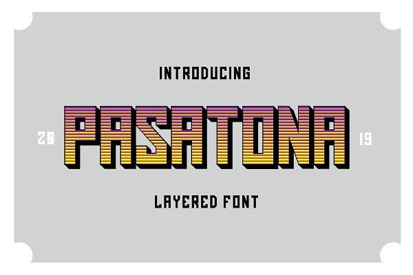 Fonts: Typefar - Pasatona