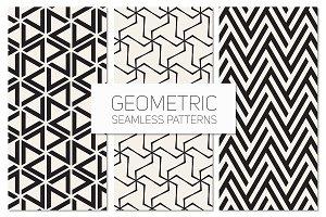 Geometric Seamless Patterns Set 5