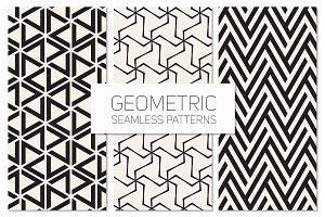 Geometric Seamless Patterns Set 5