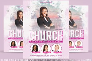 Church Women Conference Flyer Poster