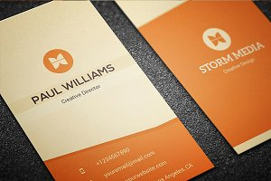 Minimal Corporate Business Card V3