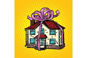 house gift, real estate. in the