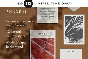 Shade II - Natural Light Mockup Kit