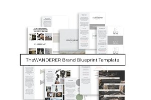 Brand Blueprint Template - WANDERER