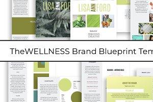 Brand Blueprint Template - WELLNESS