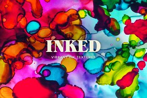 Inked: Abstract Ink Textures