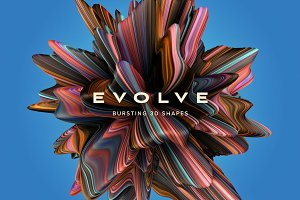 Evolve: Bursting 3D Shapes
