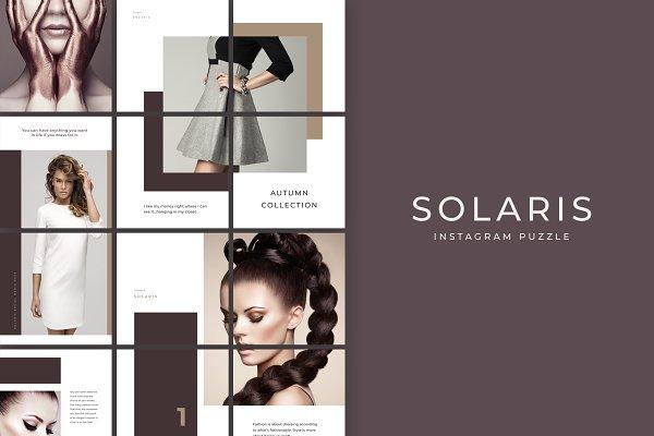 Solaris Instagram Puzzle Template