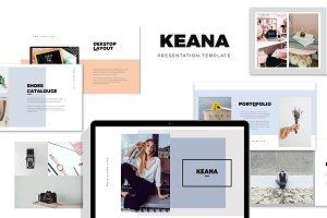 Keana : Fashion Style Keynote
