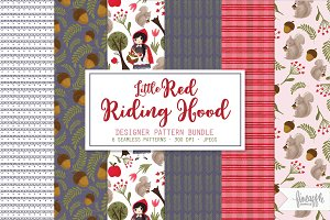 Little Red Riding Hood Pattern Pack