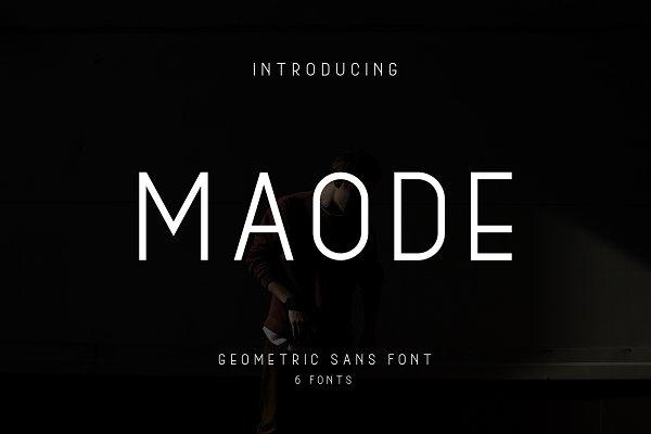 Fonts - Maode