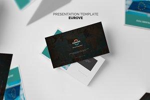 Eurove : Europe Area Map Keynote