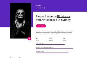 Shani - Bootstrap Onepage template