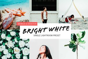 Bright White Lightroom Preset