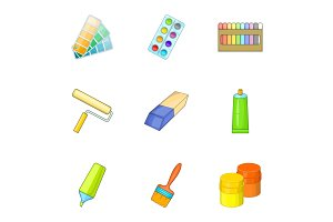 Art instruments for painting icons