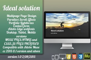 Ideal Solution - HTML/Muse Template