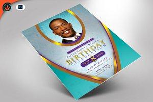 Royal Pastor Birthday Flyer Program