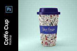 Coffe Cup Mockup PSD