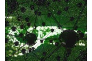 Molecular geometric chaos abstract
