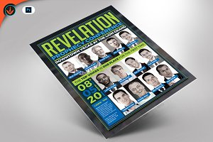 Revelation Prophecy Conference Flyer