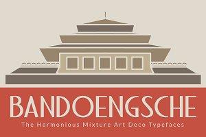 Bandoengsche Typeface