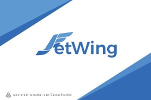 Jet Wing Logo Template