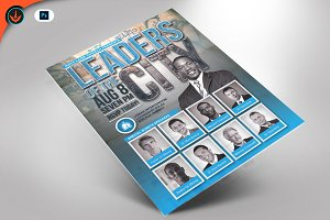 Leaders of the City Flyer Template