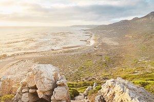 Sunset on Cape of Good Hope