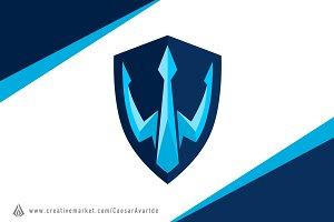 Triden Esport Logo Template