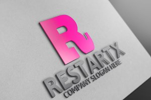 Restartx / Letter R Logo