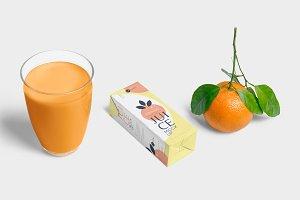 Juice Box Mockups