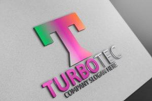 Turbo Tec / T Letter Logo