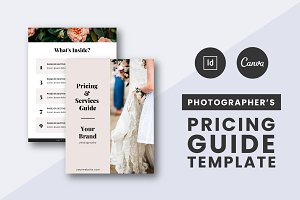 Photographers Pricing Guide Template