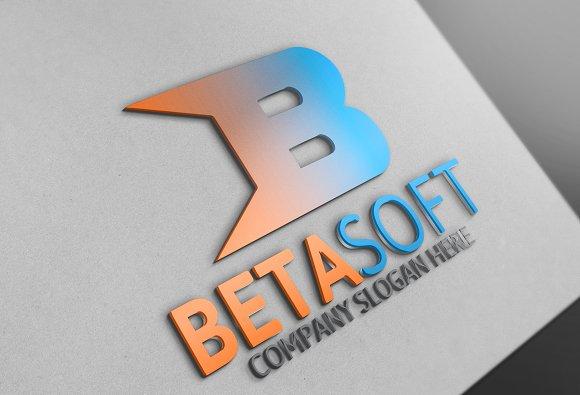 Beta Soft / B Letter Logo