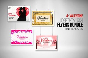 Valentine's Day Special Flyer Bundle