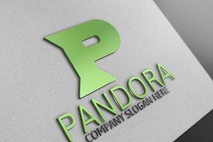 Pandora / P Letter Logo