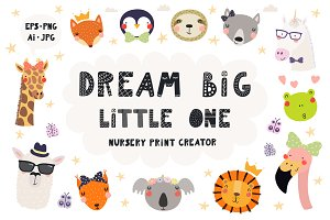 Cute Little Animals Nursery Creator