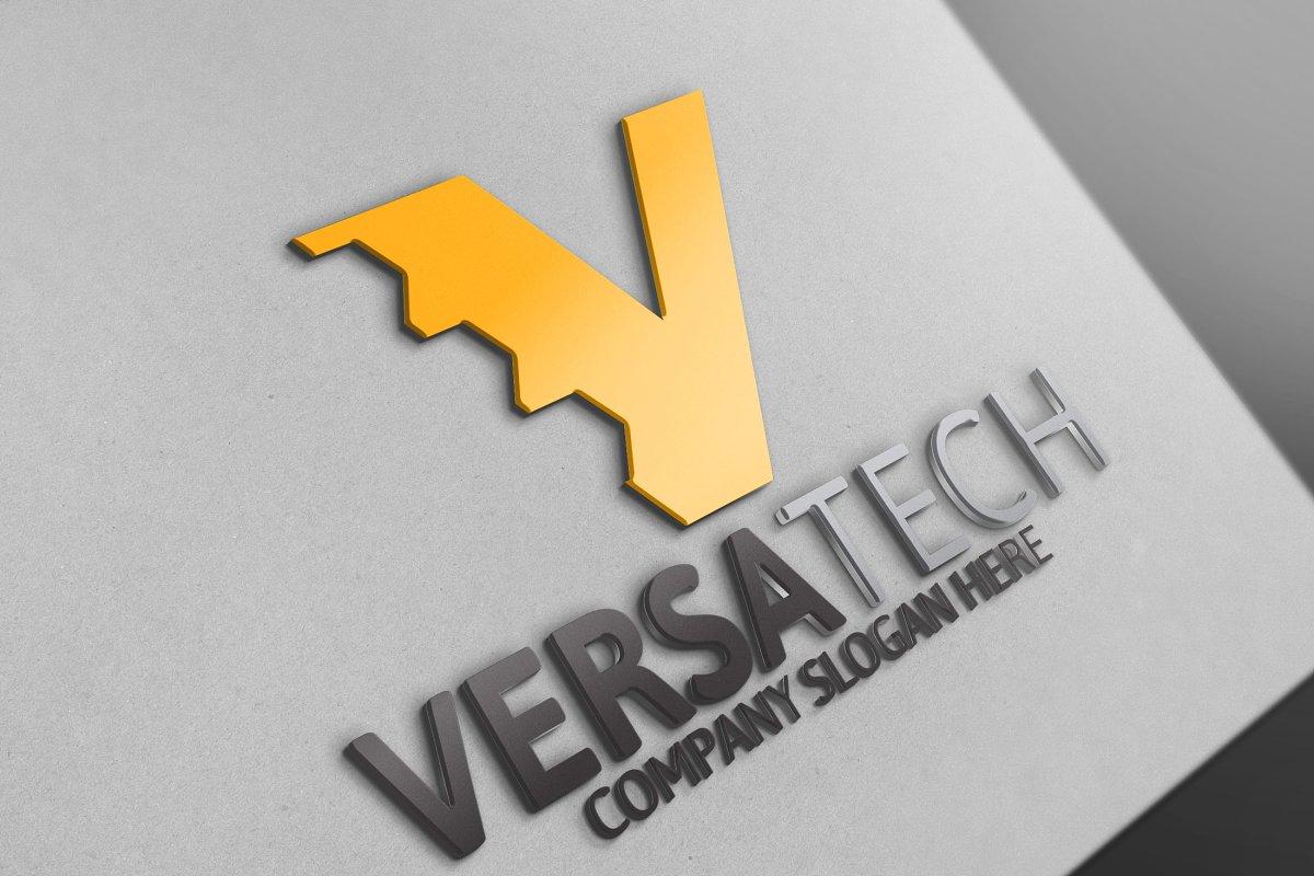 Versatech / V Letter Logo