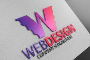 Webdesign W Letter