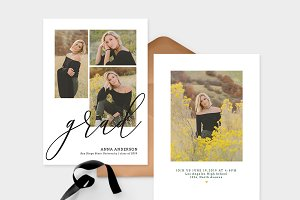Graduation Card Templates G080