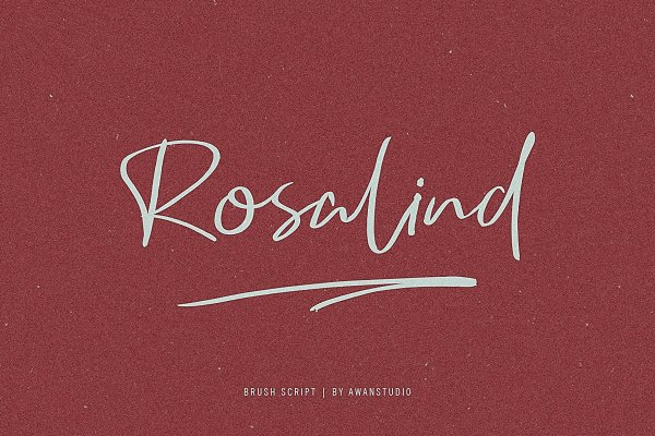 Rosalind | Brush Script
