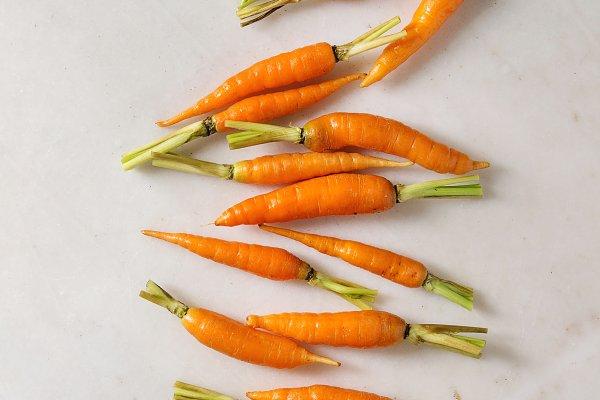 Stock Photos: Natasha Breen - Kitchen herbs and carrots