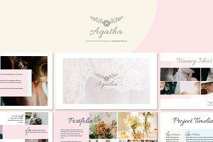 Agatha - Wedding Planner GoogleSlide
